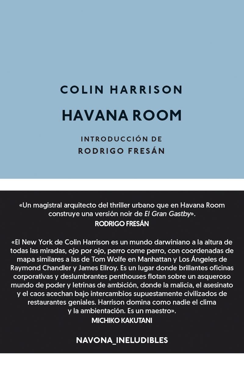 Havana Room: portada