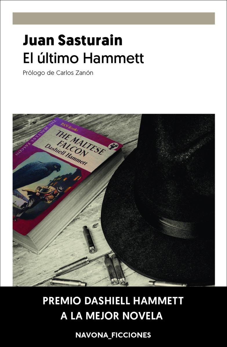 El último Hammett: portada