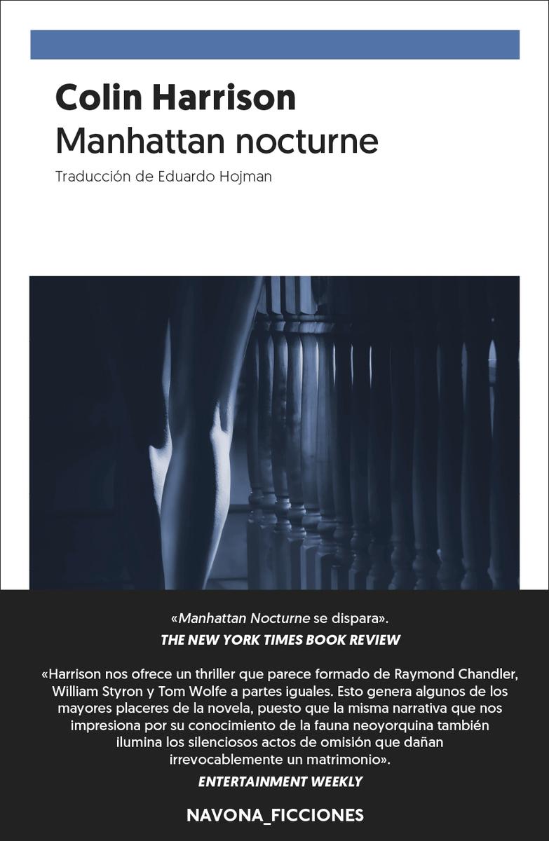Manhattan Nocturne: portada
