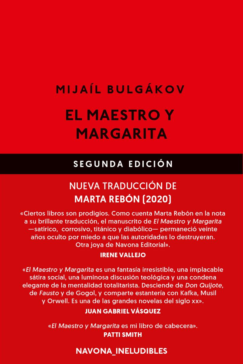 El Maestro y Margarita: portada