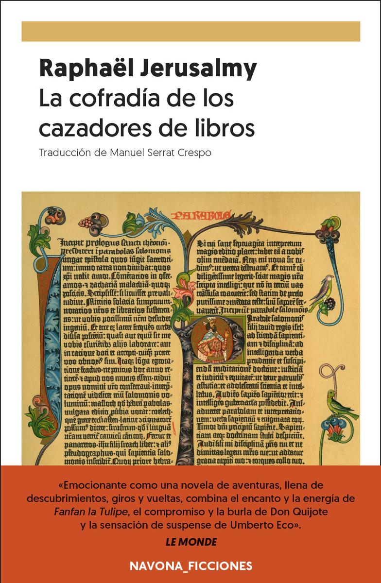 La cofradía de los cazadores de libros: portada