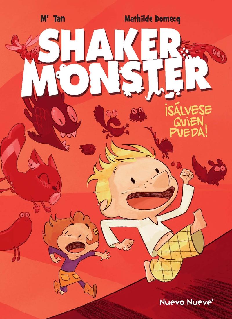 Shaker Monster 1: portada