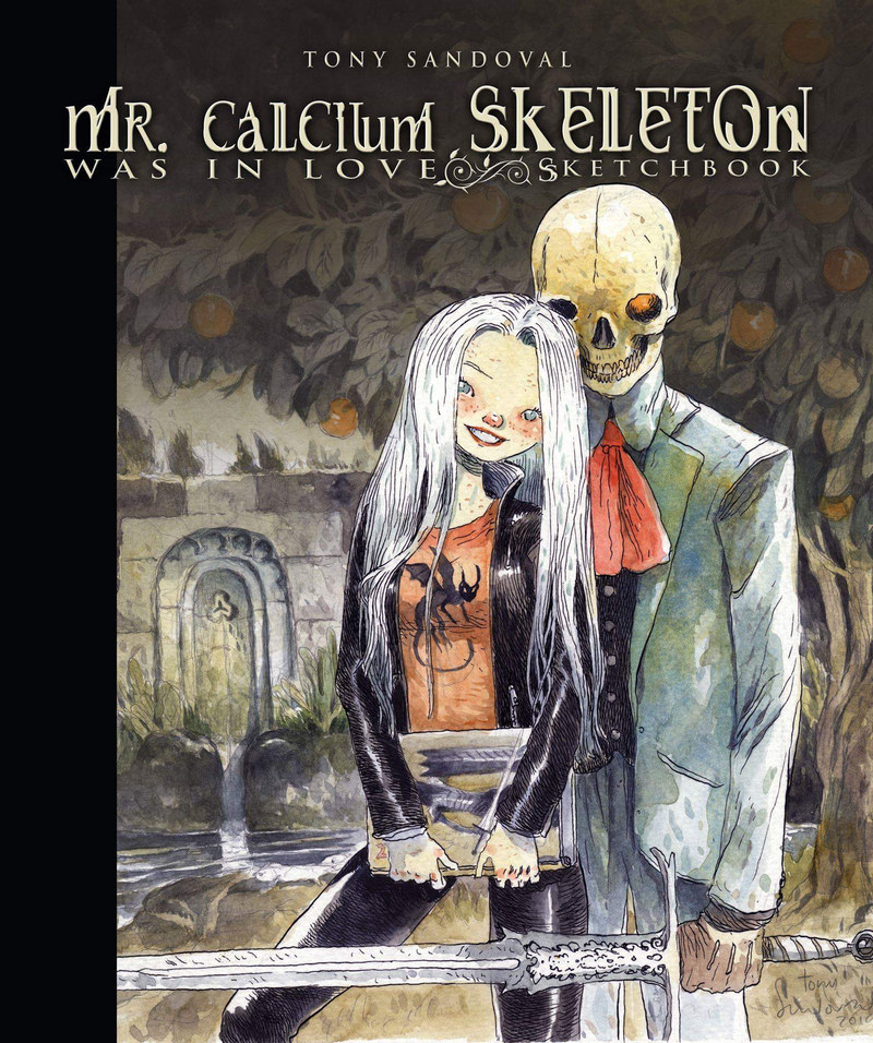 Mr. Calcium Skeleton was in love: portada
