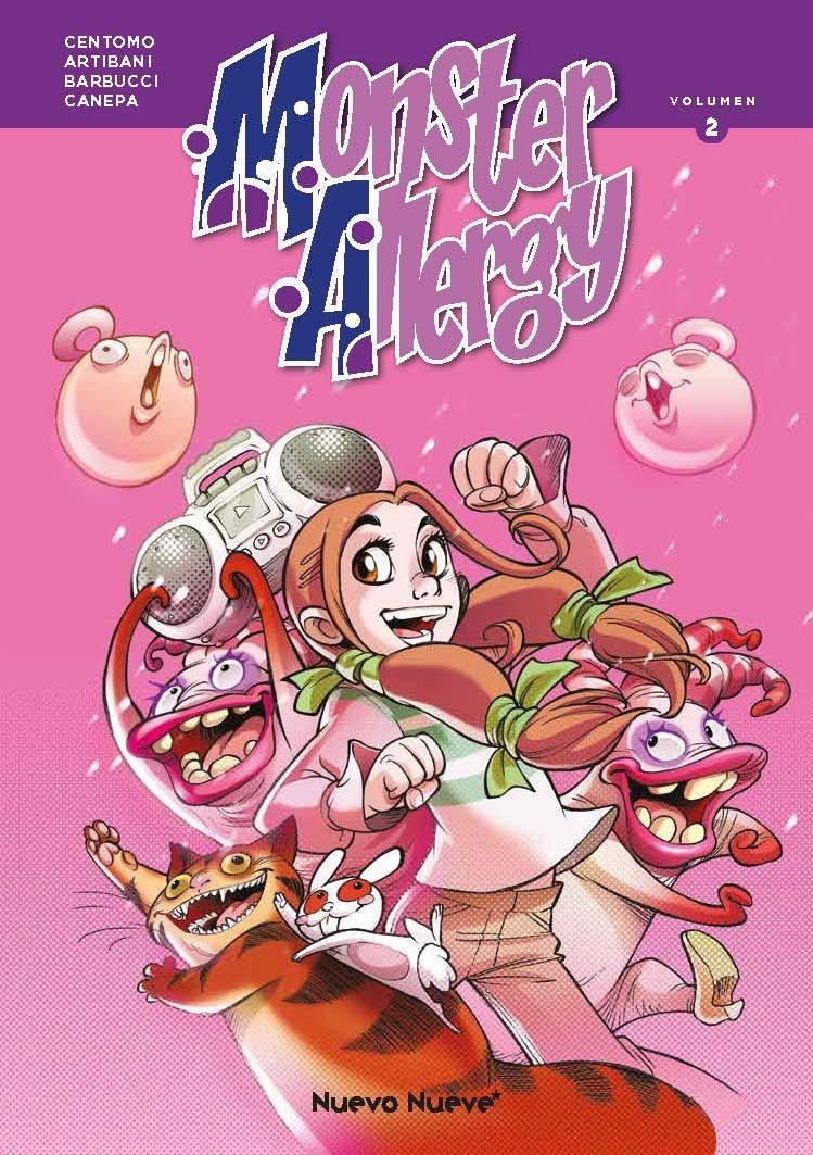Monster Allergy 2: portada