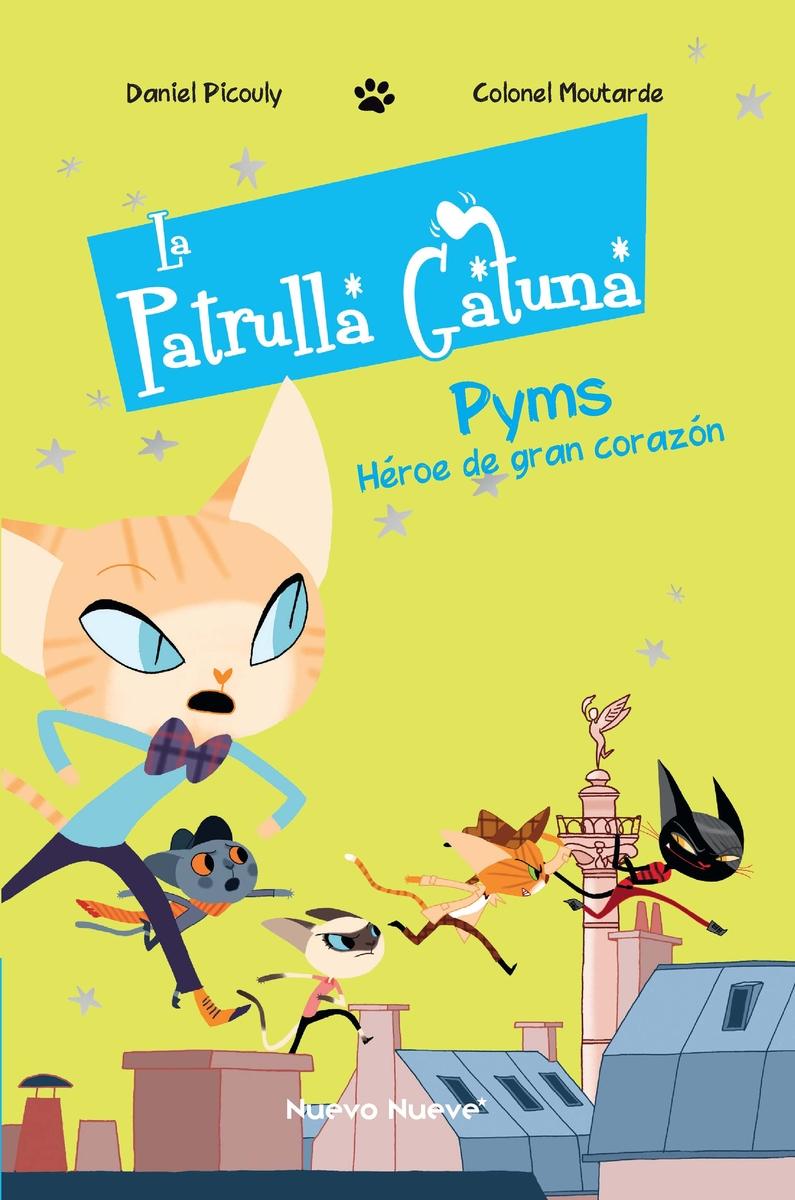 La Patrulla Gatuna -1: portada
