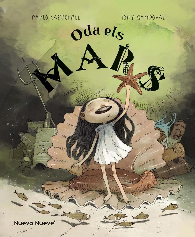 Oda els Mars: portada
