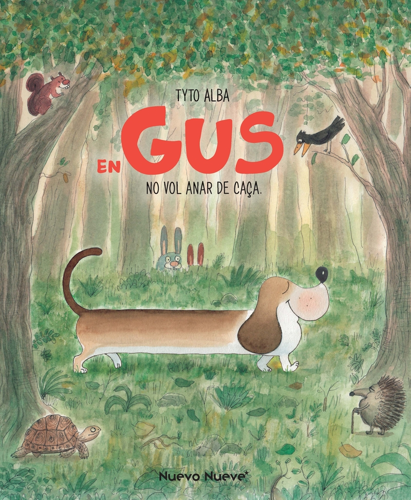 En Gus no vol anar de caça: portada