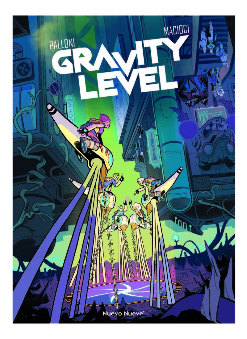 Gravity Level: portada