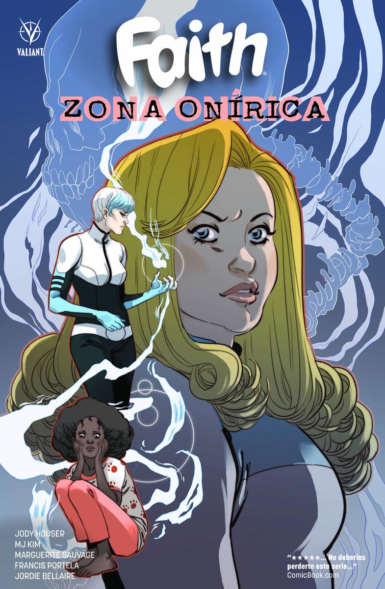 FAITH: ZONA ONÍRICA: portada