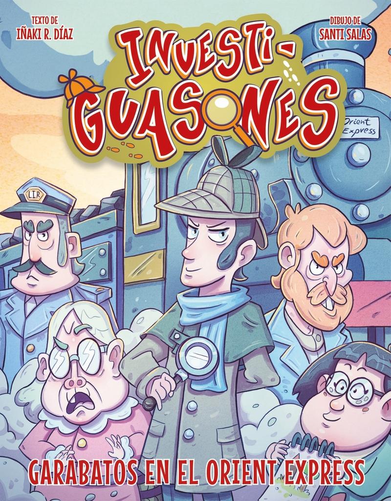 Garabatos en el Orient Express: portada