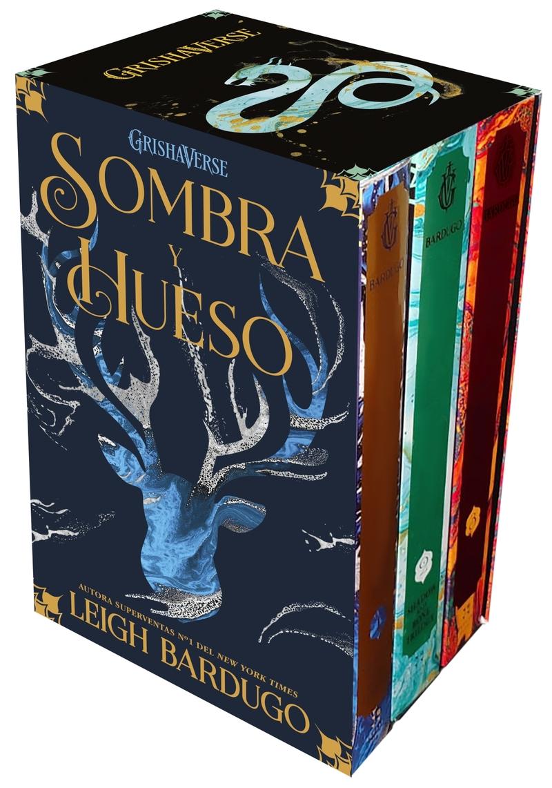 Estuche especial Trilogía SOMBRA Y HUESO (2ªed): portada