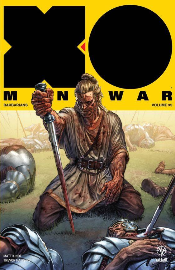 X-O Manowar vol. 5: portada