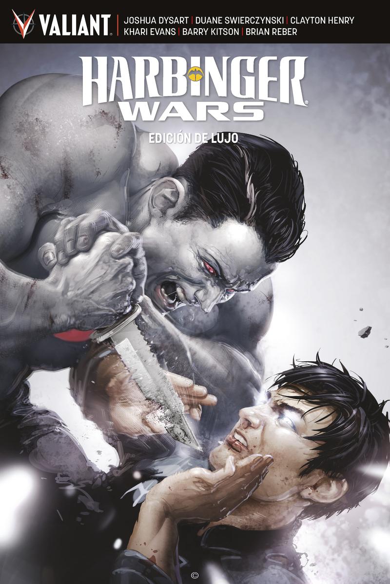 Harbinger Wars - Edición de lujo: portada