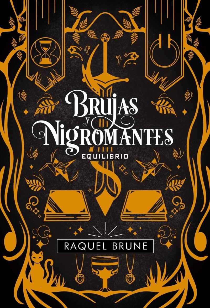 Brujas y nigromantes: Equilibrio: portada