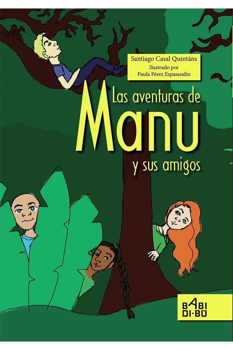 Las aventuras de Manu y sus amigos: portada