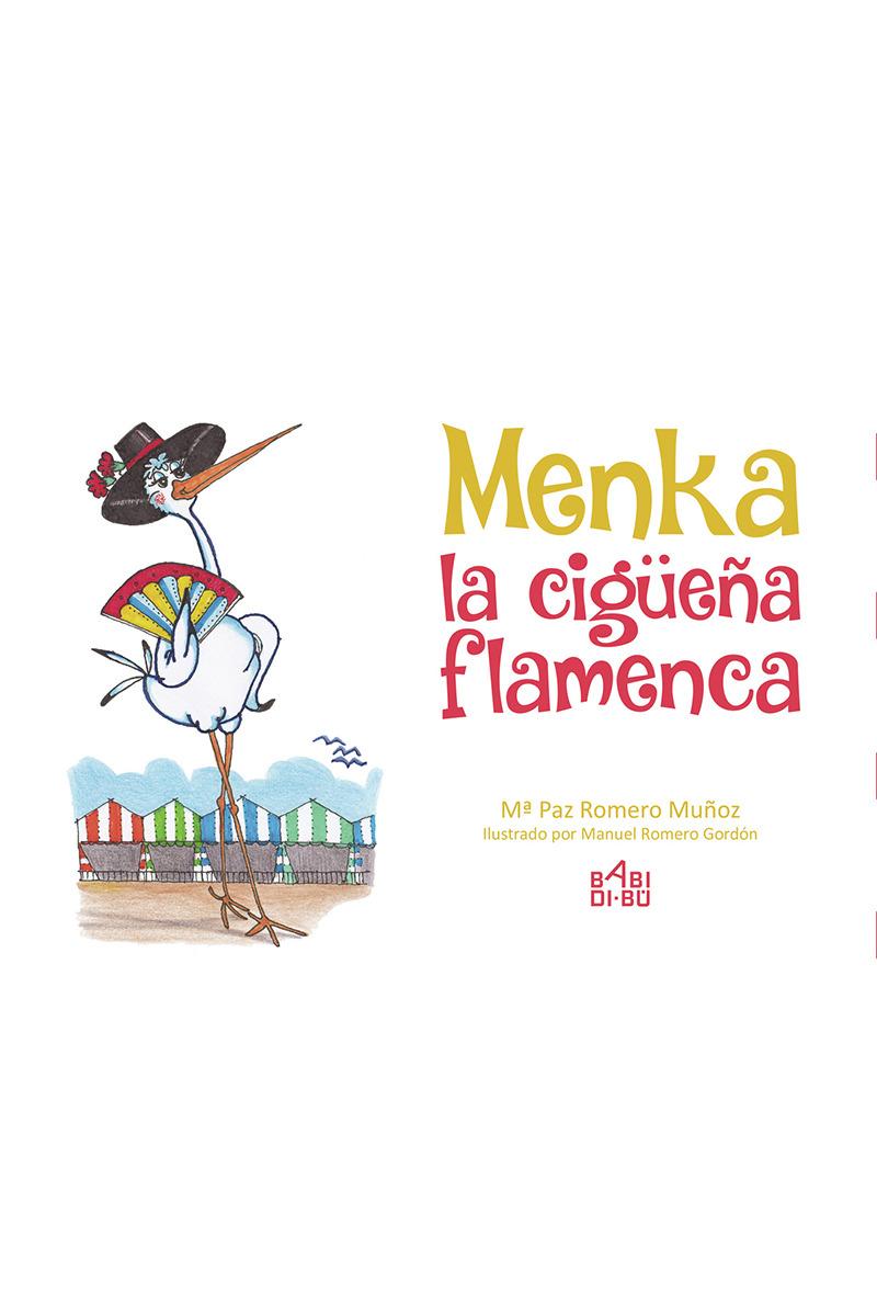 Menka, la cigüeña flamenca: portada