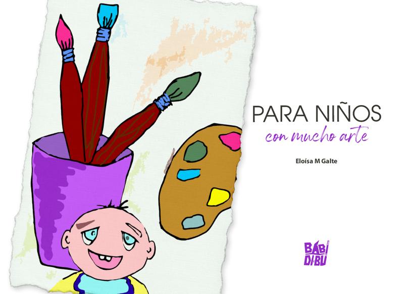 Para niños con mucho arte: portada