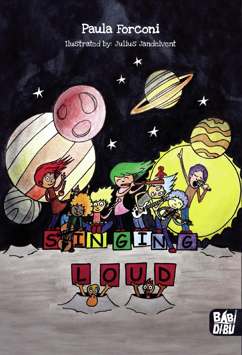 Singing loud!: portada