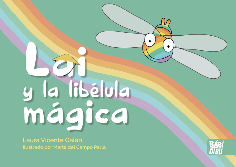 Lai y la libélula mágica: portada