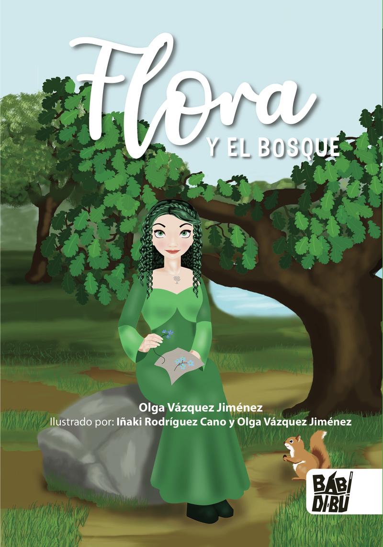 Flora y el bosque: portada