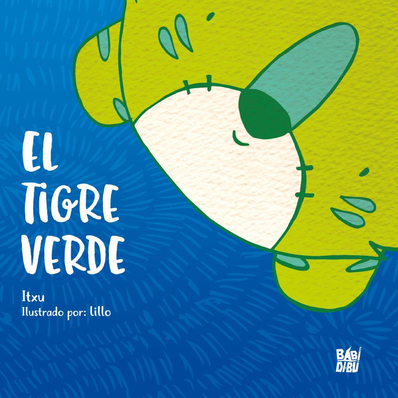El tigre verde: portada