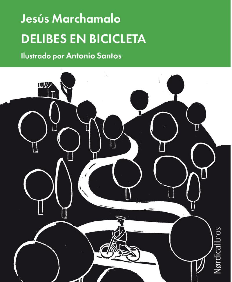 Delibes en bicicleta: portada