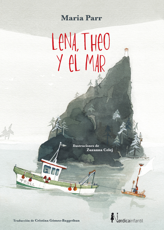 Lena, Theo y el Mar: portada