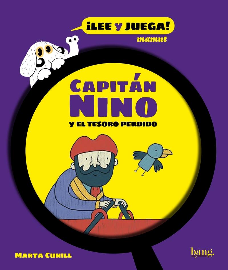 Capitán Nino y el tesoro perdido: portada