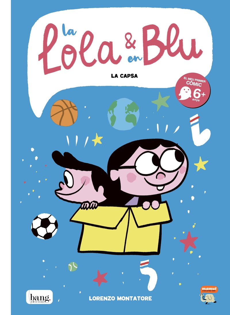 La Lola i en Blu: portada