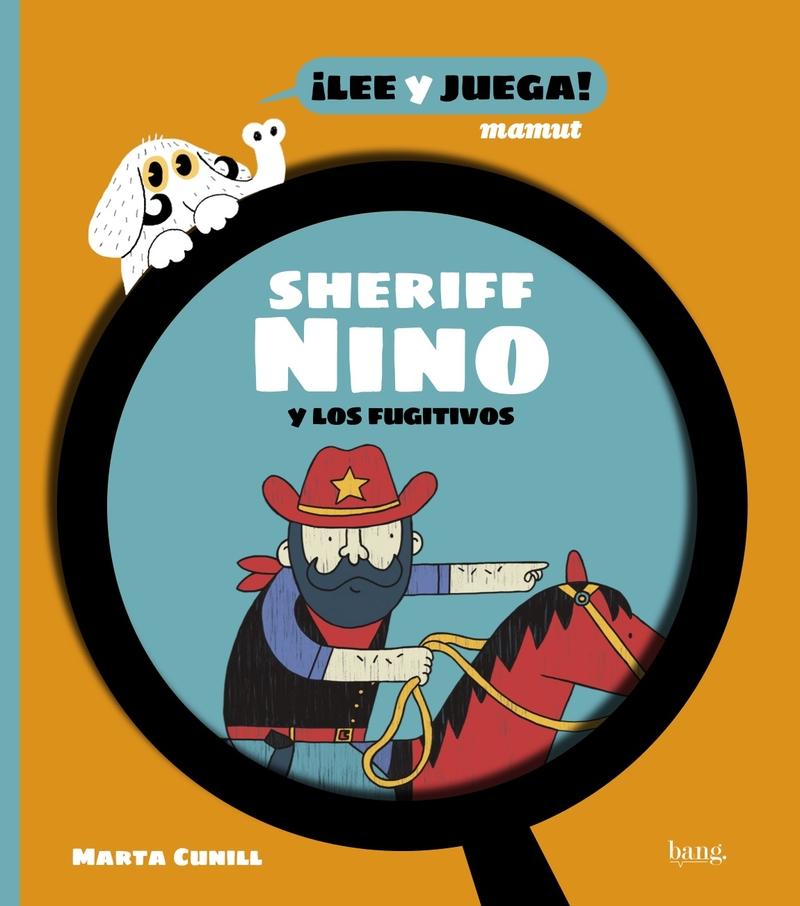 Sheriff Nino y los fugitivos: portada
