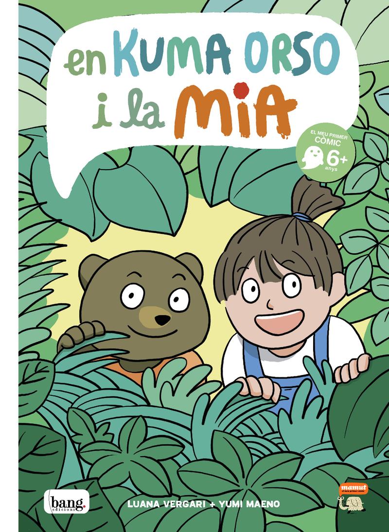 En Kuma Orso i la Mia: portada