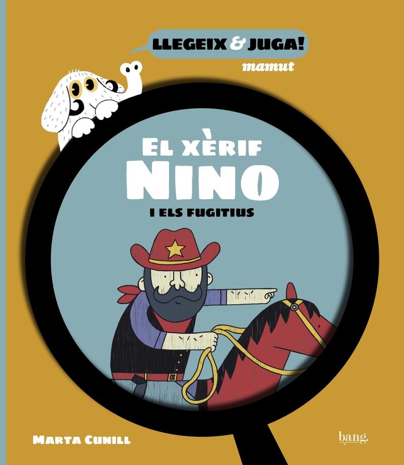 El xèrif Nino i els fugitius: portada
