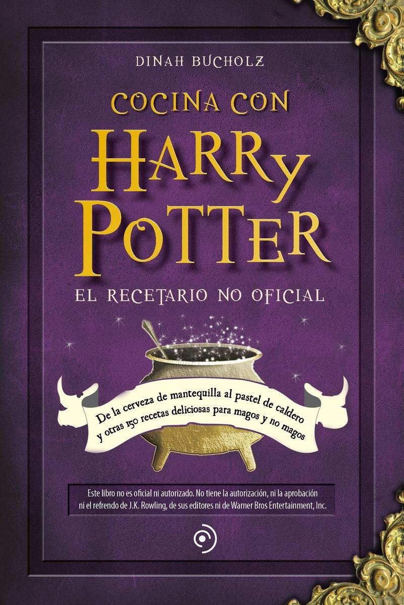 Cocina con Harry Potter (5ª ED): portada