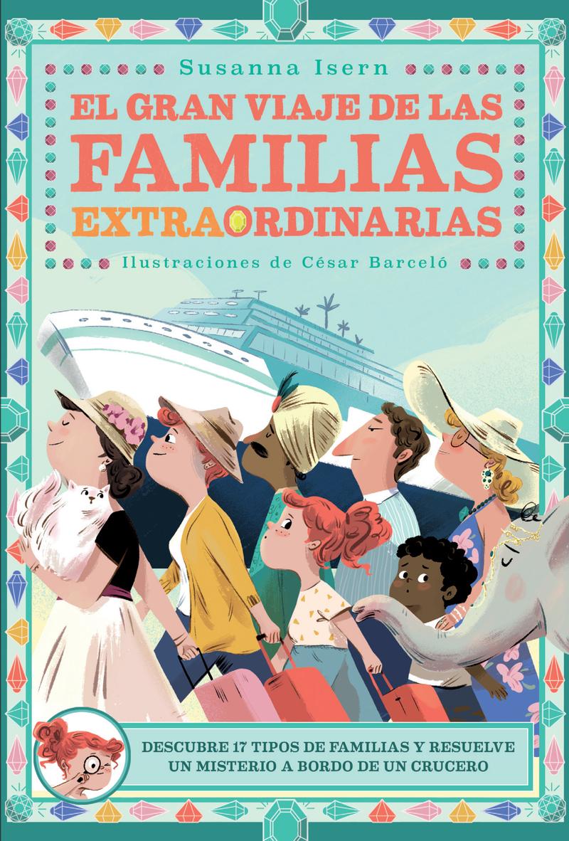 El gran viaje de las familias extraordinarias: portada