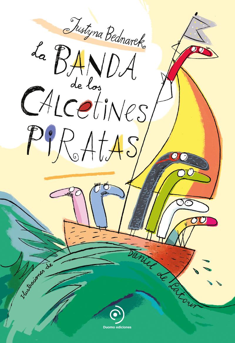 La banda de los calcetines piratas: portada