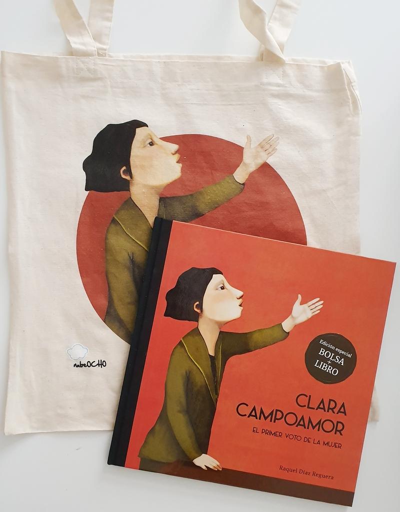 Pack Clara Campoamor + bolsa: portada