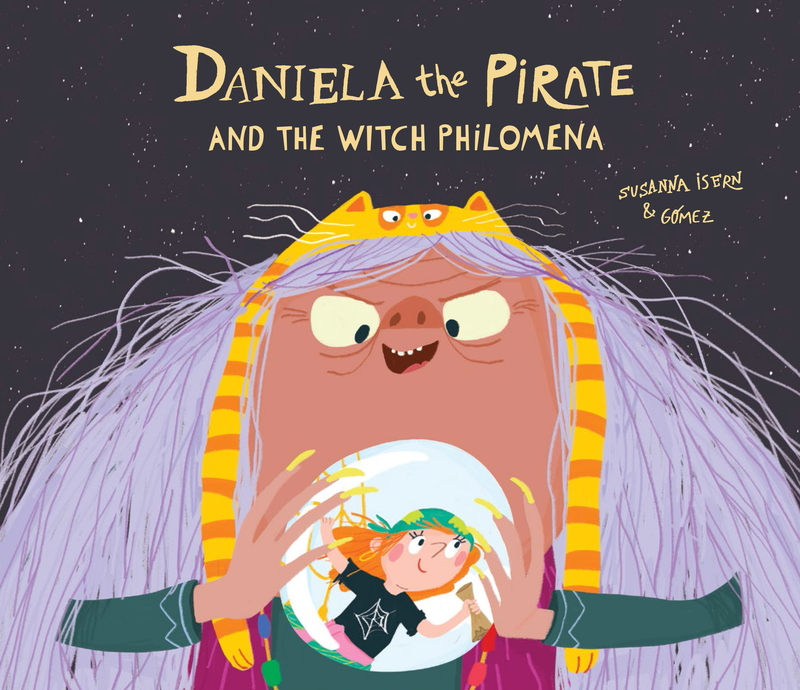 Daniela The Pirate and the Witch Philomena: portada