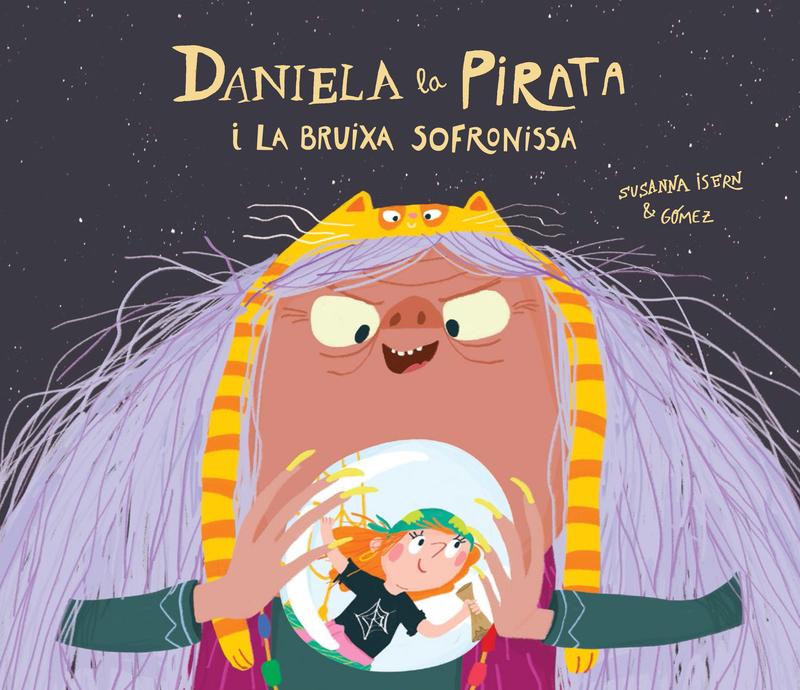 Daniela la Pirata i la bruixa Sofronissa: portada