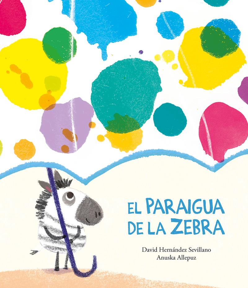 El paraigua de la Zebra: portada