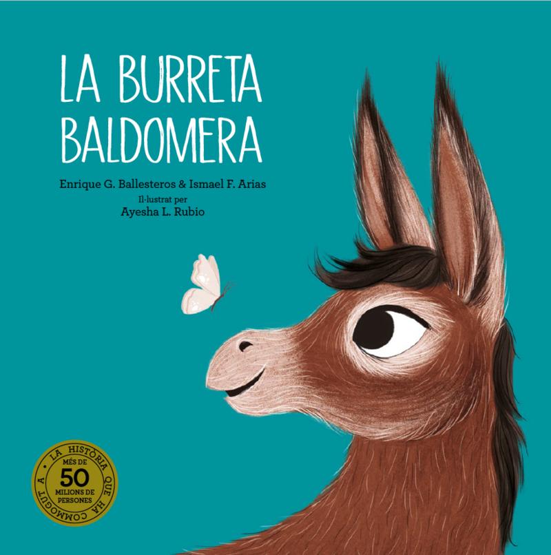 La burreta Baldomera: portada