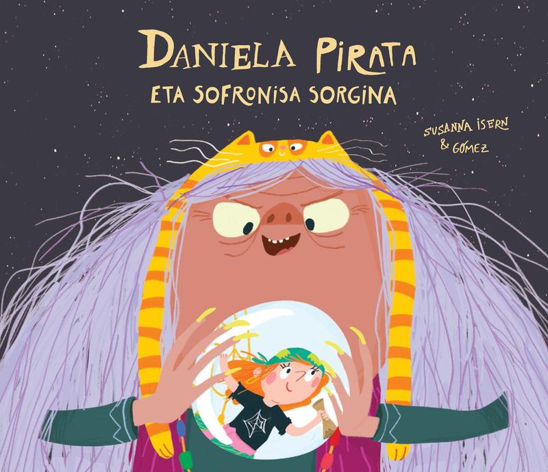 Daniela Pirata eta Sofronisa sorgina: portada