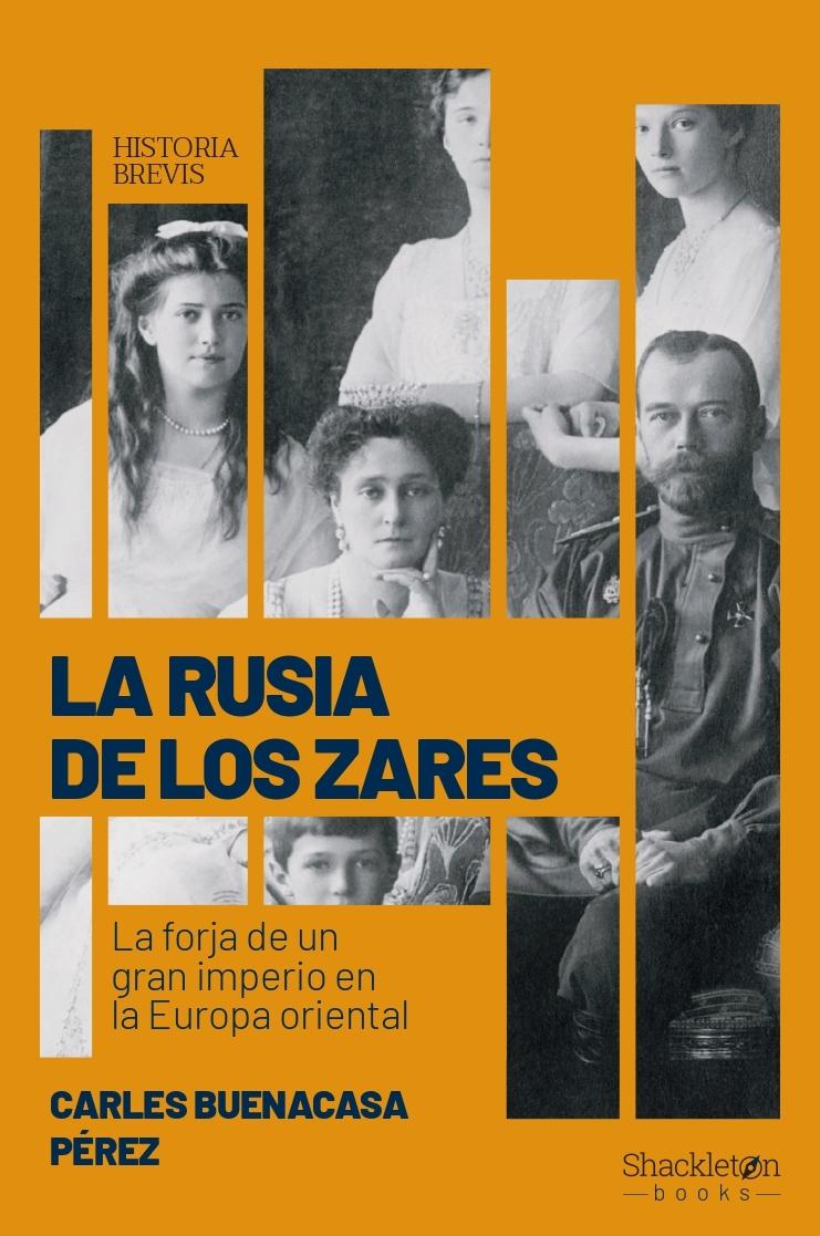 La Rusia de los zares: portada