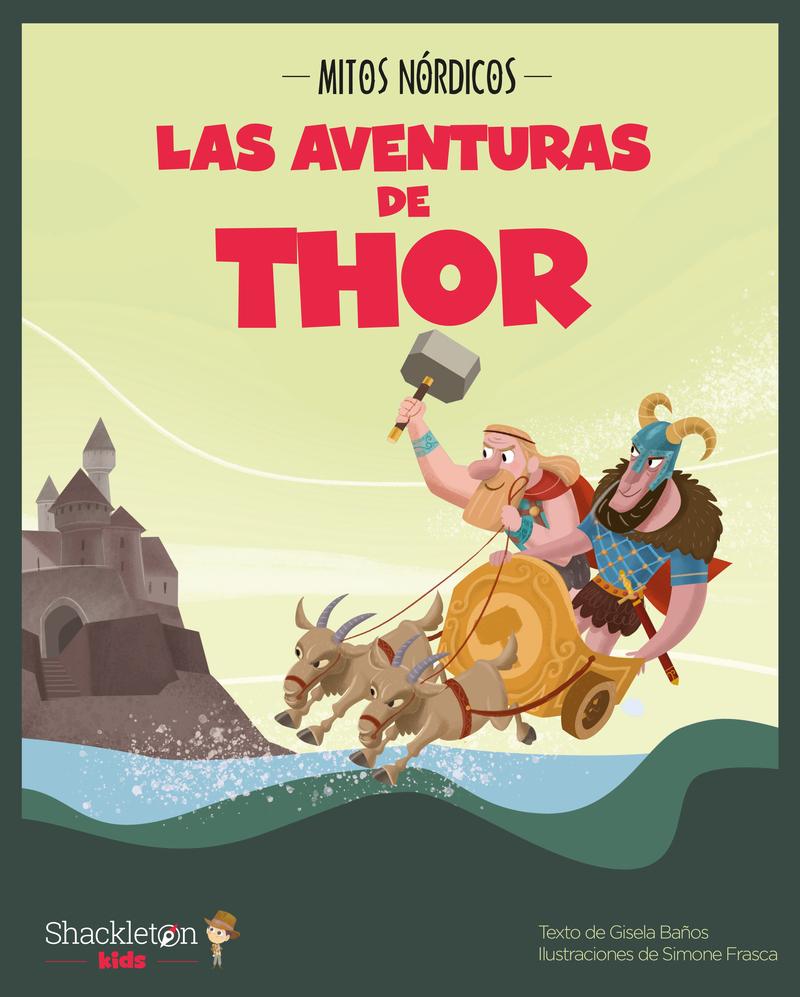 Las aventuras de Thor: portada
