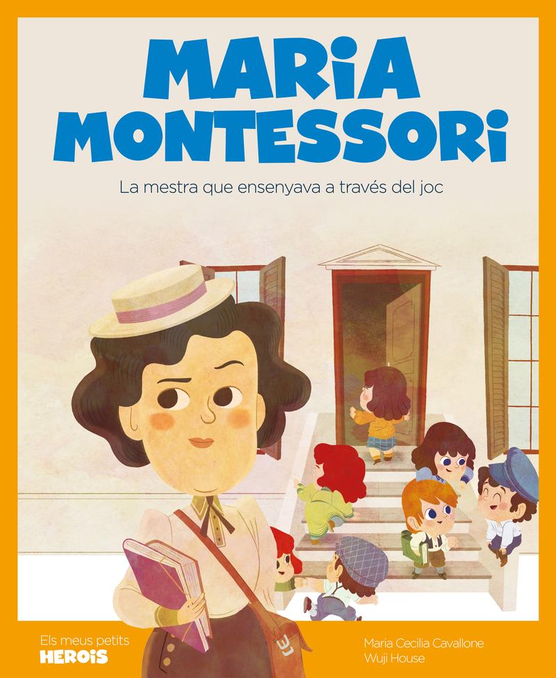 Maria Montessori (versió CATALÀ): portada