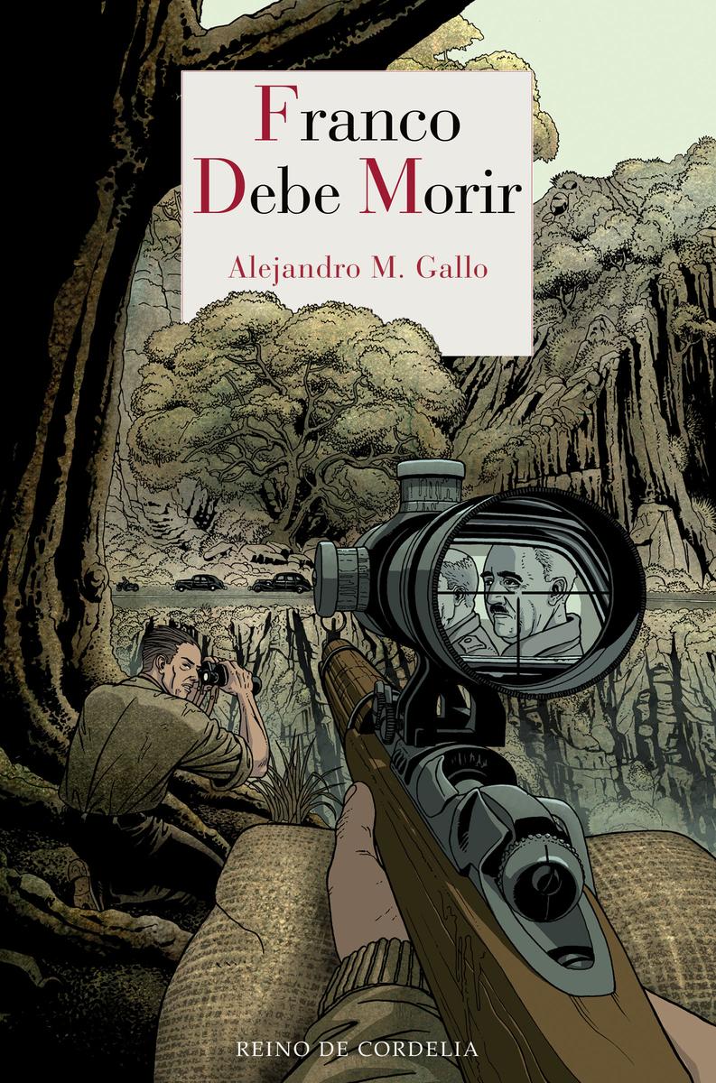 FRANCO DEBE MORIR: portada