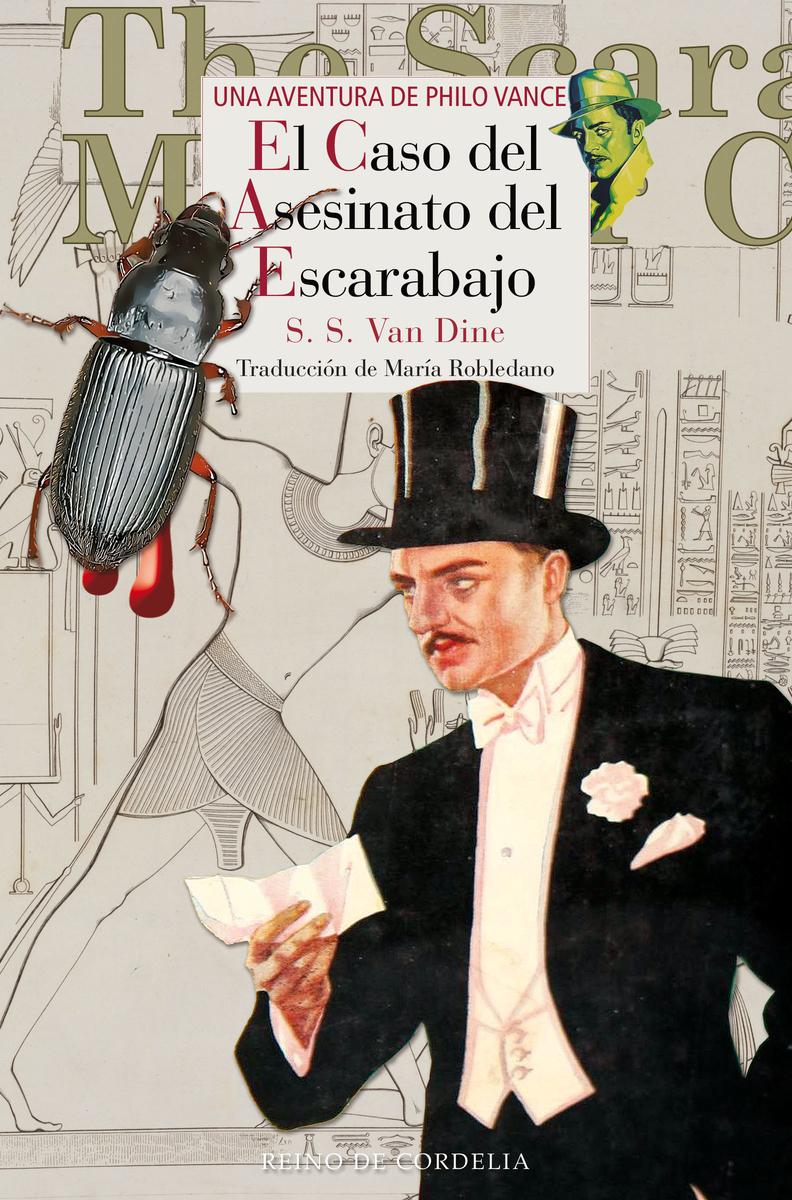 EL CASO DEL ASESINATO DEL ESCARABAJO: portada