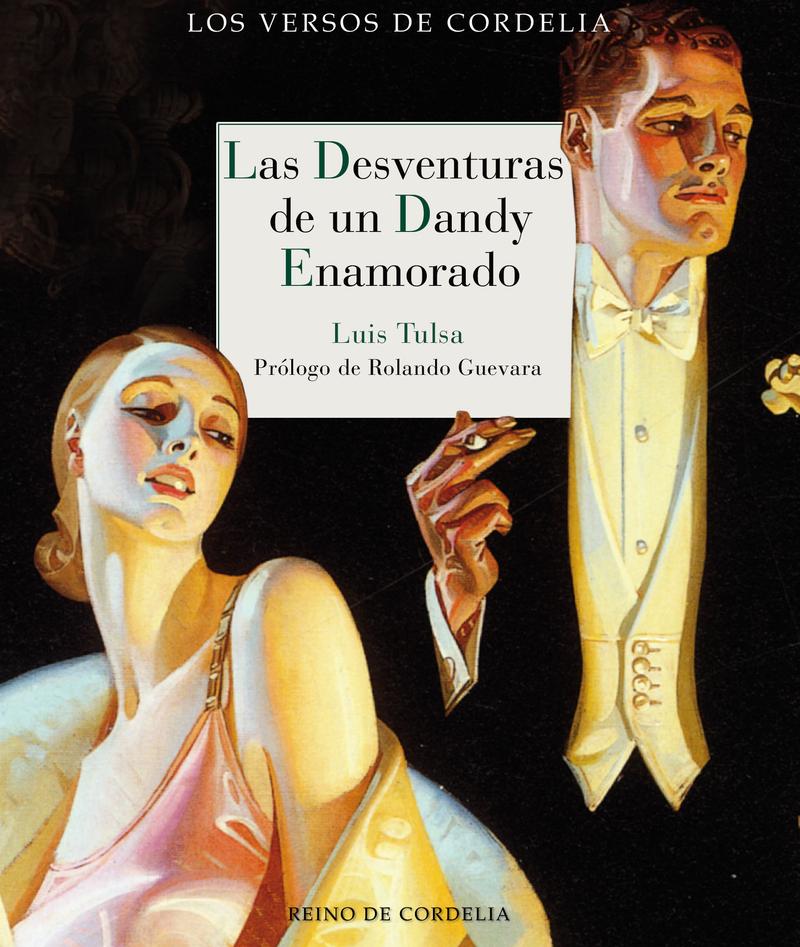 LAS DESVENTURAS DE UN DANDY ENAMORADO: portada
