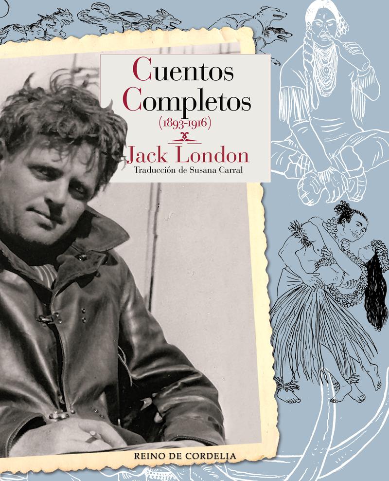 ESTUCHE CUENTOS COMPLETOS JACK LONDON: portada