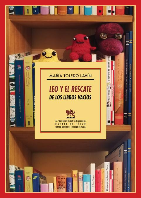 Leo y el rescate de los libros vacíos: portada