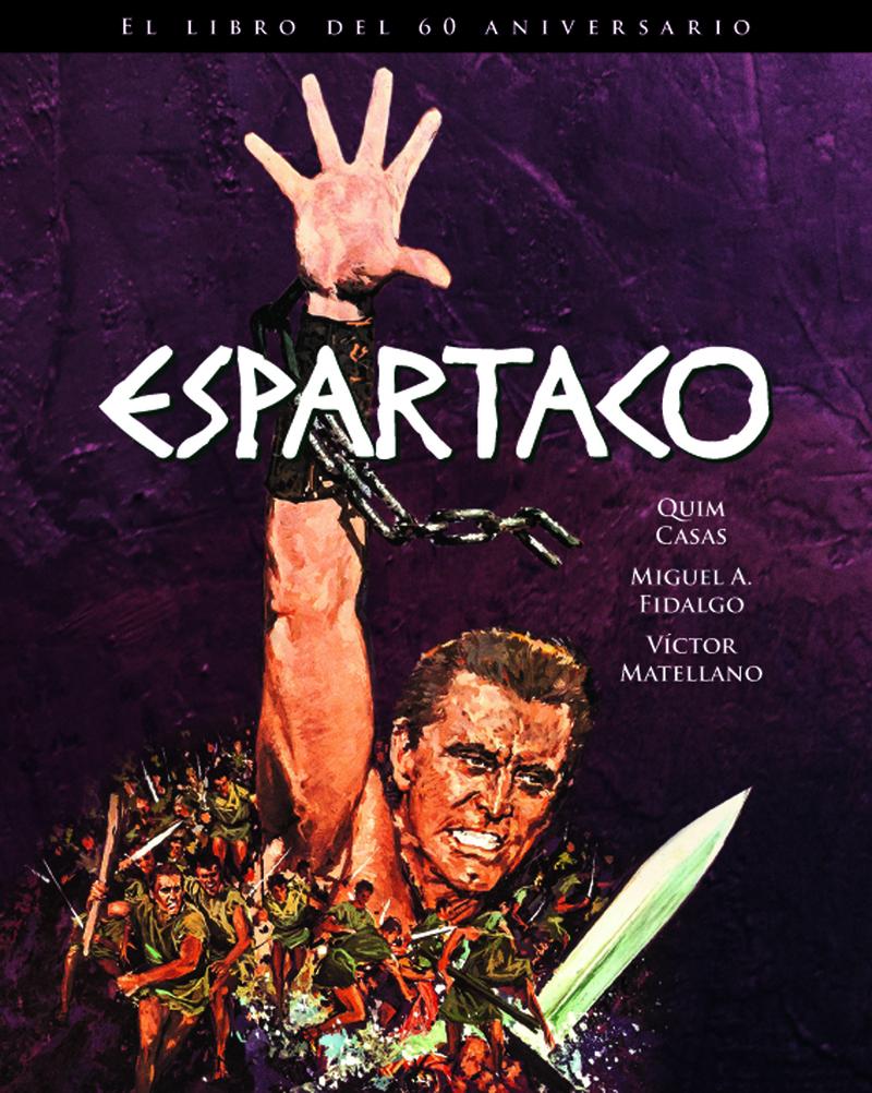 ESPARTACO. EL LIBRO DEL 60 ANIVERSARIO: portada